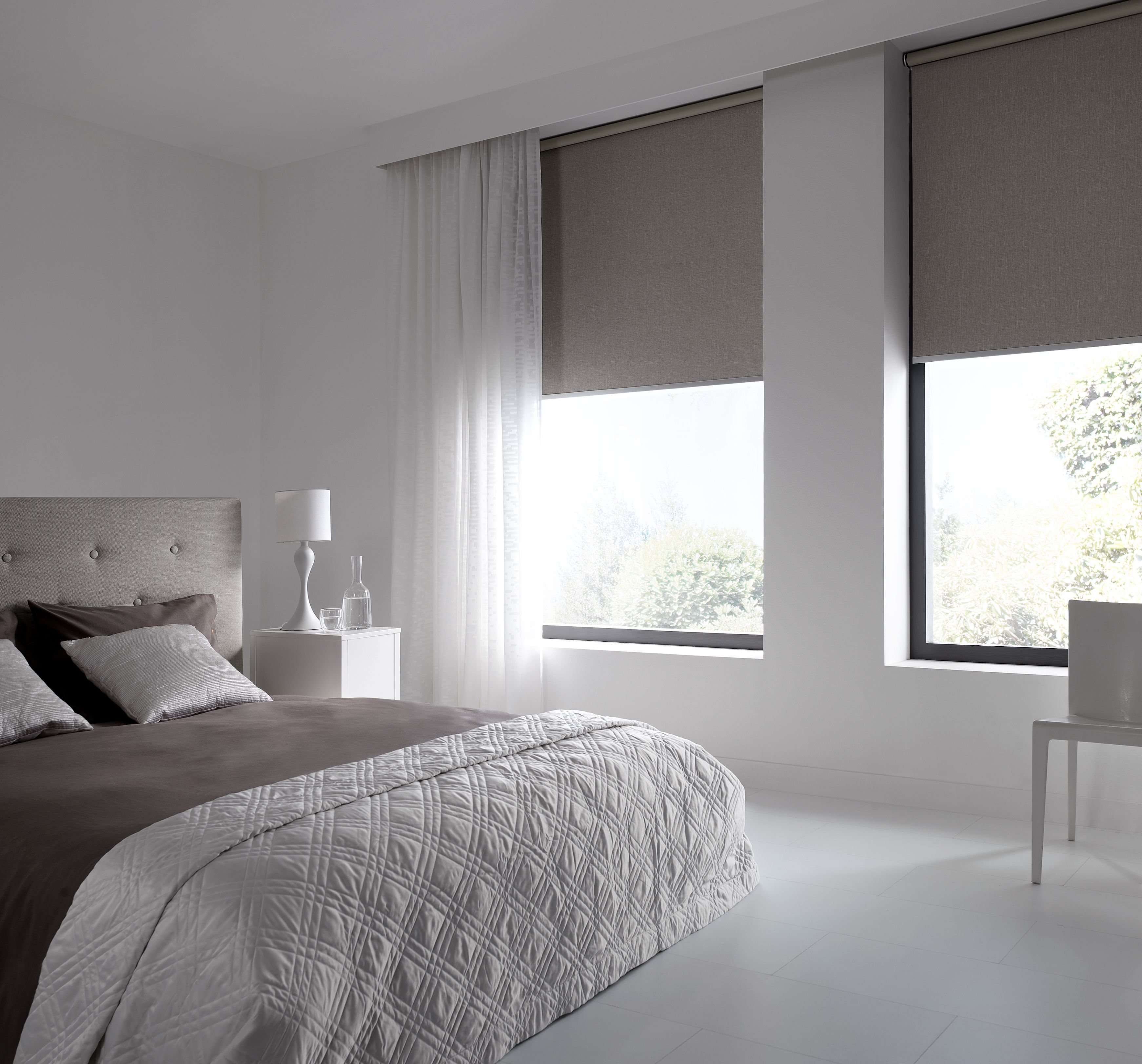 Creative and inexpensive cool tips roller blinds sliding door