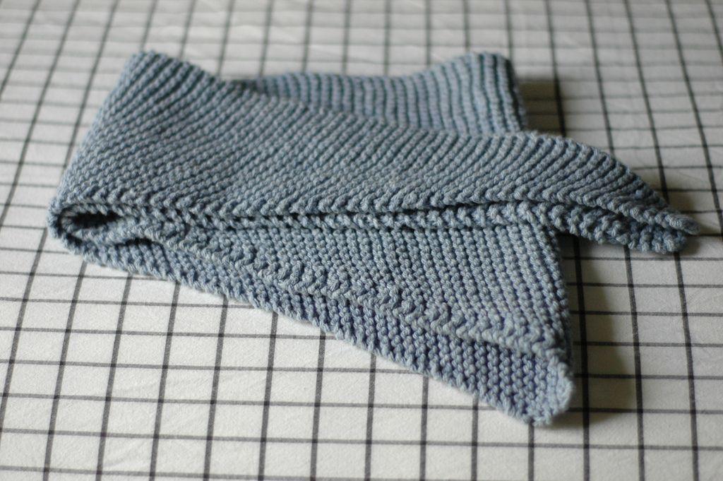 Garter Stitch Baktus Triangle Scarf Pattern Httpravelry