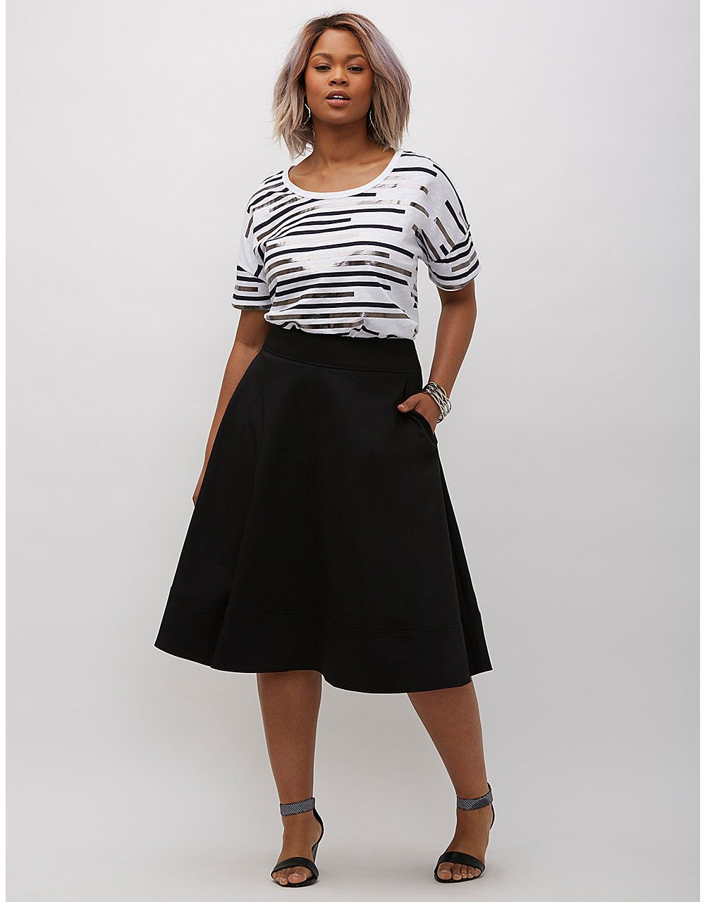 68baa460a28051 Plus Size Midi Flared Skirts – DACC