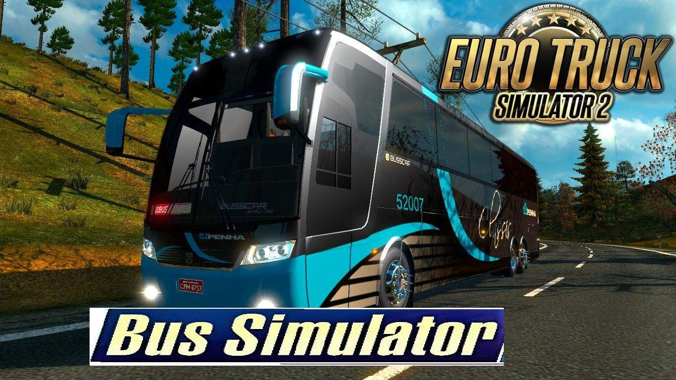 Ets2 Bus Simulator On Pc Using Bus Driving Mods Euro Truck