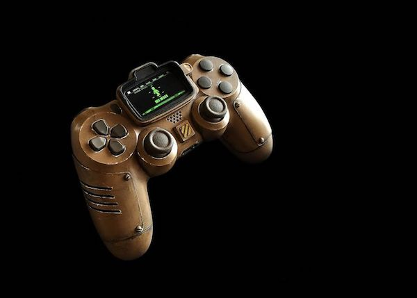 This Fallout Pip-Boy PS4 Controller Is Wasteland Design At