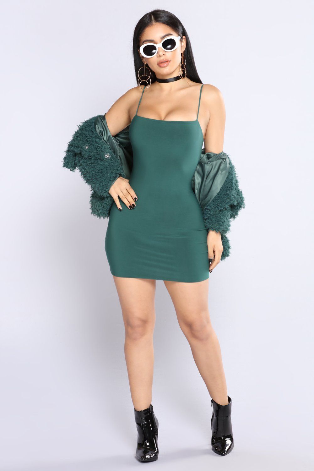 86598671ee99 Straight To The Point Dress - Hunter Green