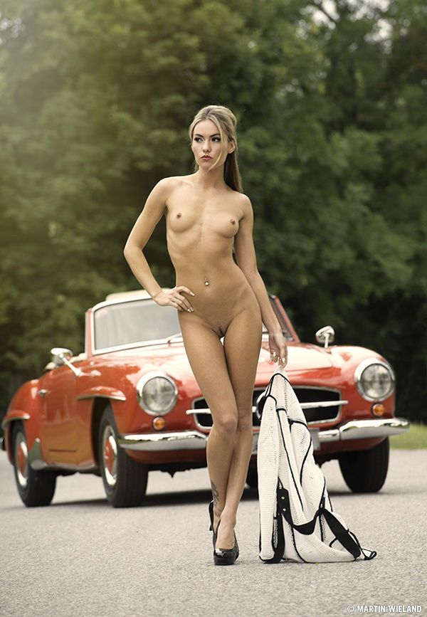 Was Cars with nude girls on them are