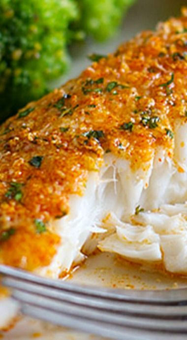 Parmesan crusted tilapia main dish recipes pinterest for Comida para tilapia