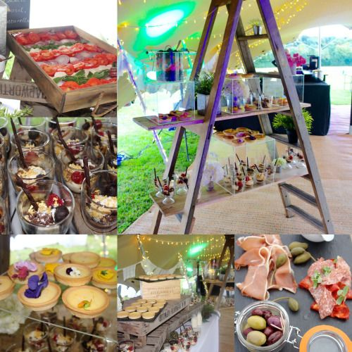 Wedding Food Dessert Station Marquee Buffet Seasonal Local Delicious
