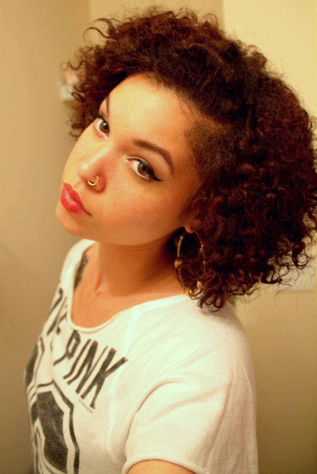 cat eye, short cut @ biracial & mixed hair | diverse beauty