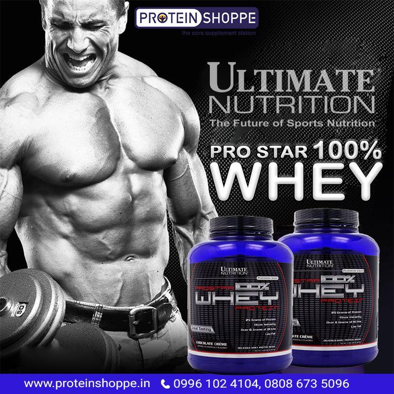 UltimateNutrition Pro Star Whey Protein, Protein
