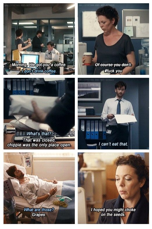 Poor Miller just wants to feed the Hardy... broadchurch
