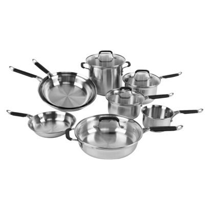 Kitchen Essentials From Calphalon Stainless Steel 12 Pc