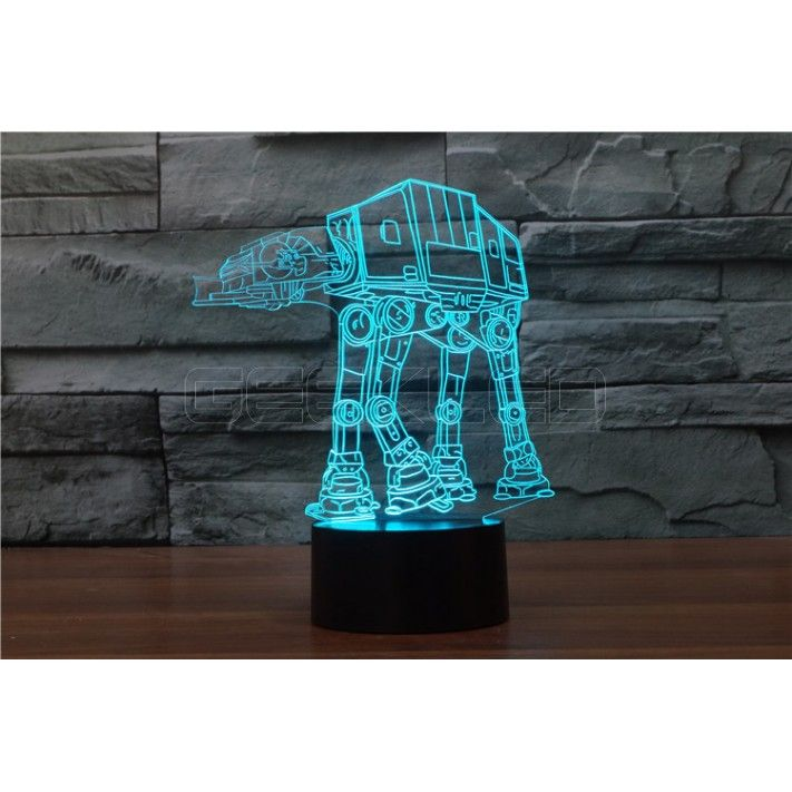 3d Optical Illusion Lamp Night Light Dog Carrier Geekled 3d Optical Illusions Illusions Optical Illusions