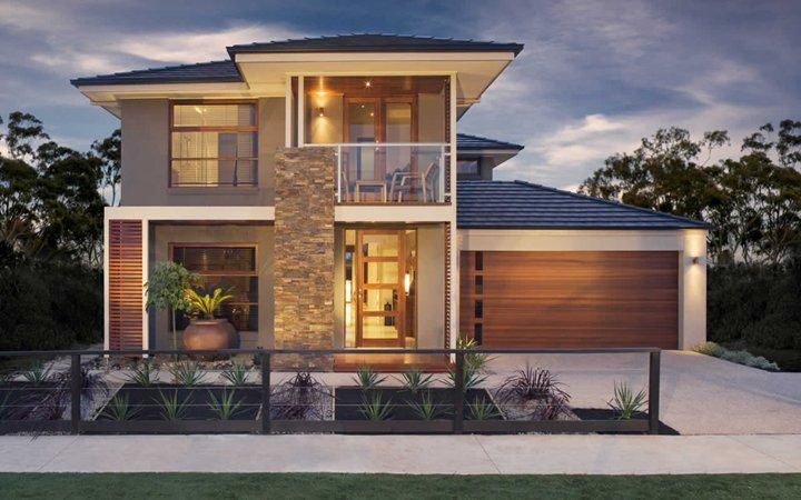 Riva New Home Images Modern House Images Metricon Homes