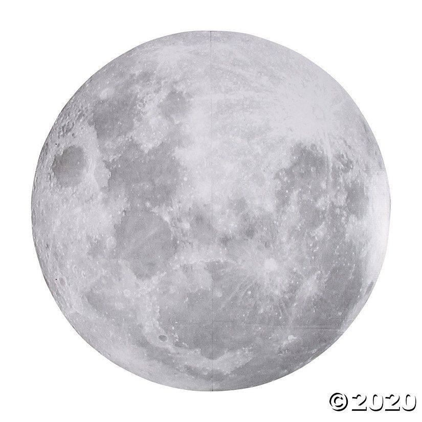 Realistic Full Moon Hanging Decor Oriental Trading In 2020 Moon Decor Full Moon Tattoo Hanging Decor
