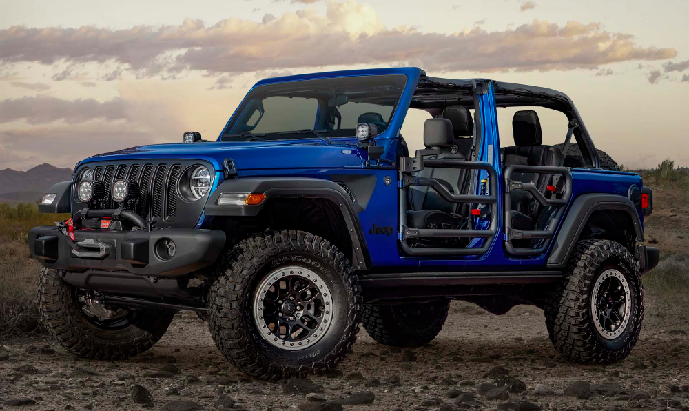 2020 Jeep Wrangler Jpp 20 Is A Mopar Made Off Roader For After The Apocalypse In 2020 Jeep Performance Parts Jeep Jeep Wrangler