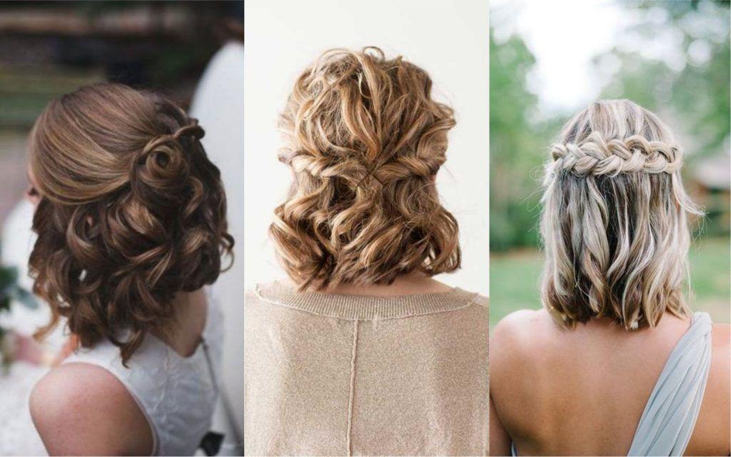 65 Peinados Recogidos Faciles Hermosos Y Elegantes Paso A Paso Con Trenzas Monos O Sencillos Peinados Con Ondas Pelo Corto Peinados Peinados Con Ondas Y Trenza
