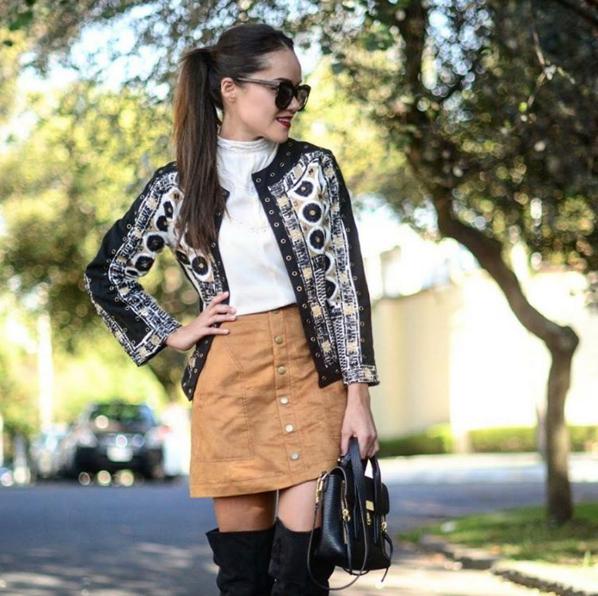 Gaby Gómez, la blogger que te enseña a vestir para el frío