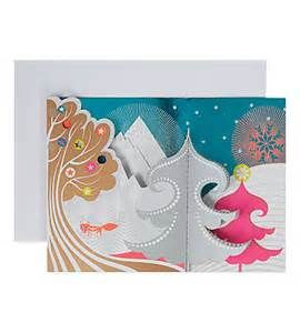 Moma foxy mountain christmas cards selfridges hiver moma foxy mountain christmas cards selfridges m4hsunfo Image collections