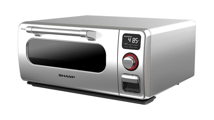 Sharp Superheated Steam Countertop Oven Stainless Steel