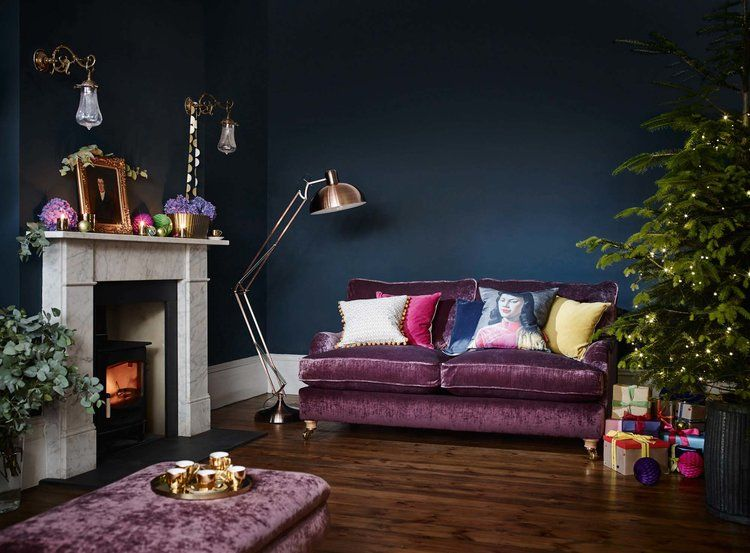 I\'m dreaming of a Pink Christmas | Deep purple bedrooms ...