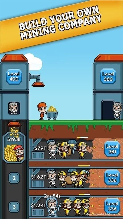 Idle Miner Tycoon Apk V1 42 0 Mod Money Android Game Games