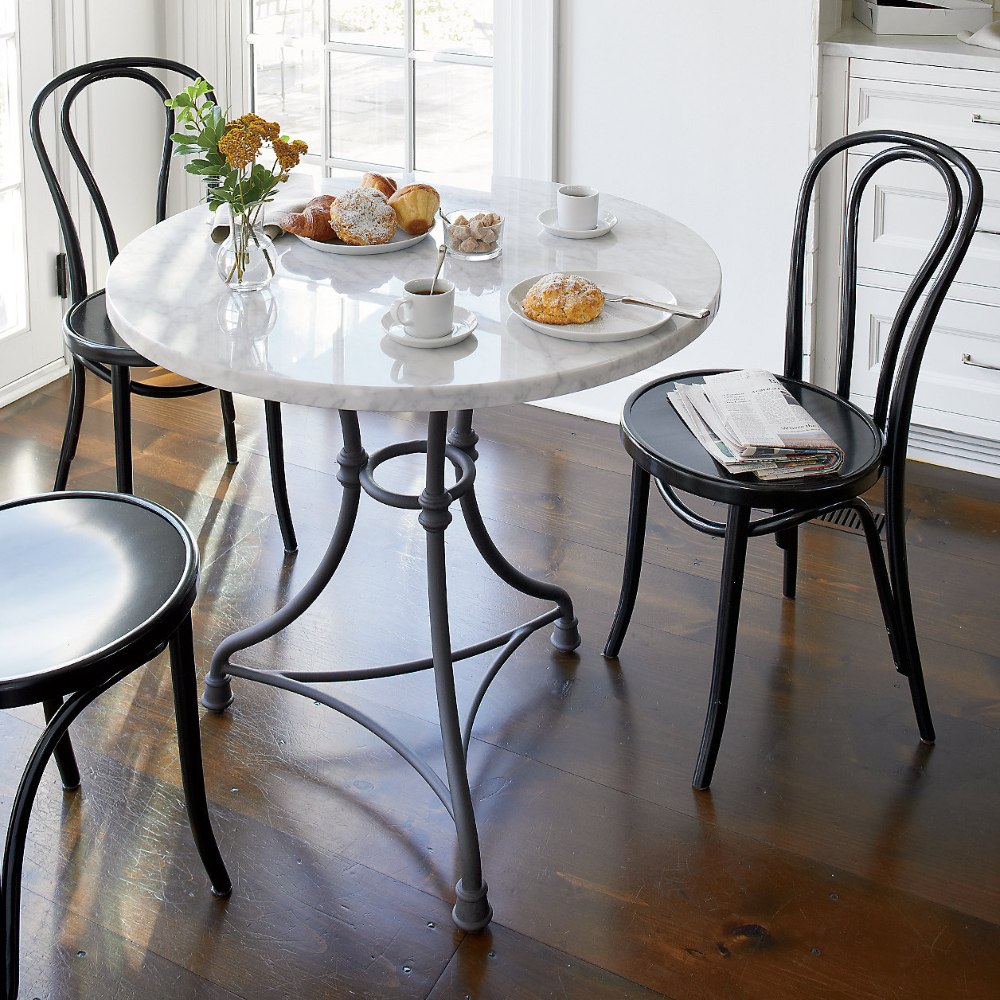 French Kitchen Round Bistro Table Reviews Crate And Barrel Patio Furnishings Bistro Table Dining Table