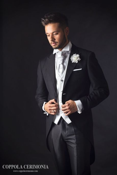 Black Tails Waistcoat Peak | Suits | Pinterest | Fiancee, Wedding ...