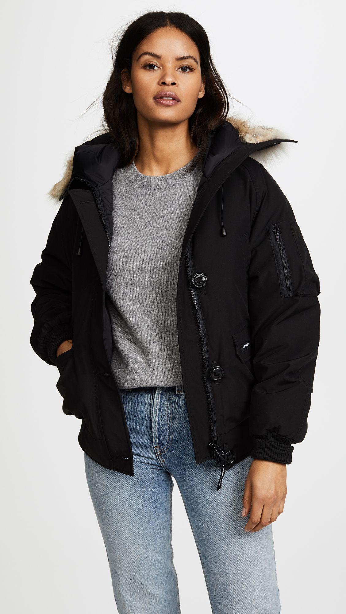 Canada goose chilliwack bomber women clothing boutique