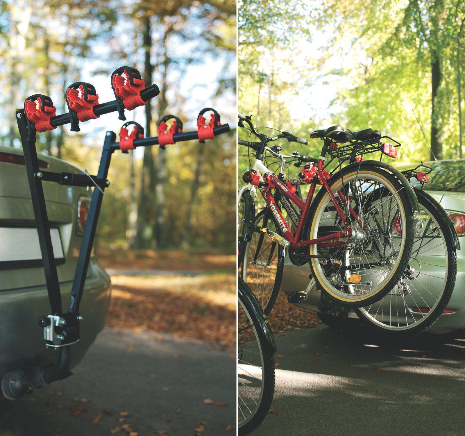 Beyondfashion 3 Bike Towbar Mount Cycle Bicycle Carrier