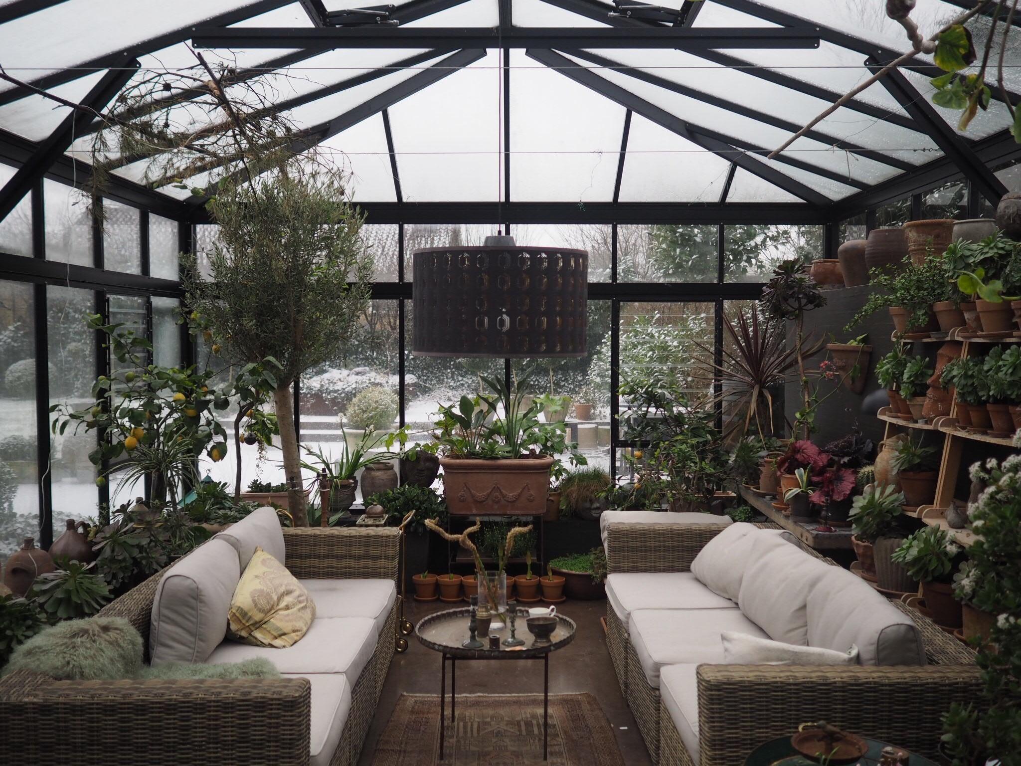 Innenarchitektur für wohnzimmer für kleines haus my mothers orangery in denmark gardening garden diy home