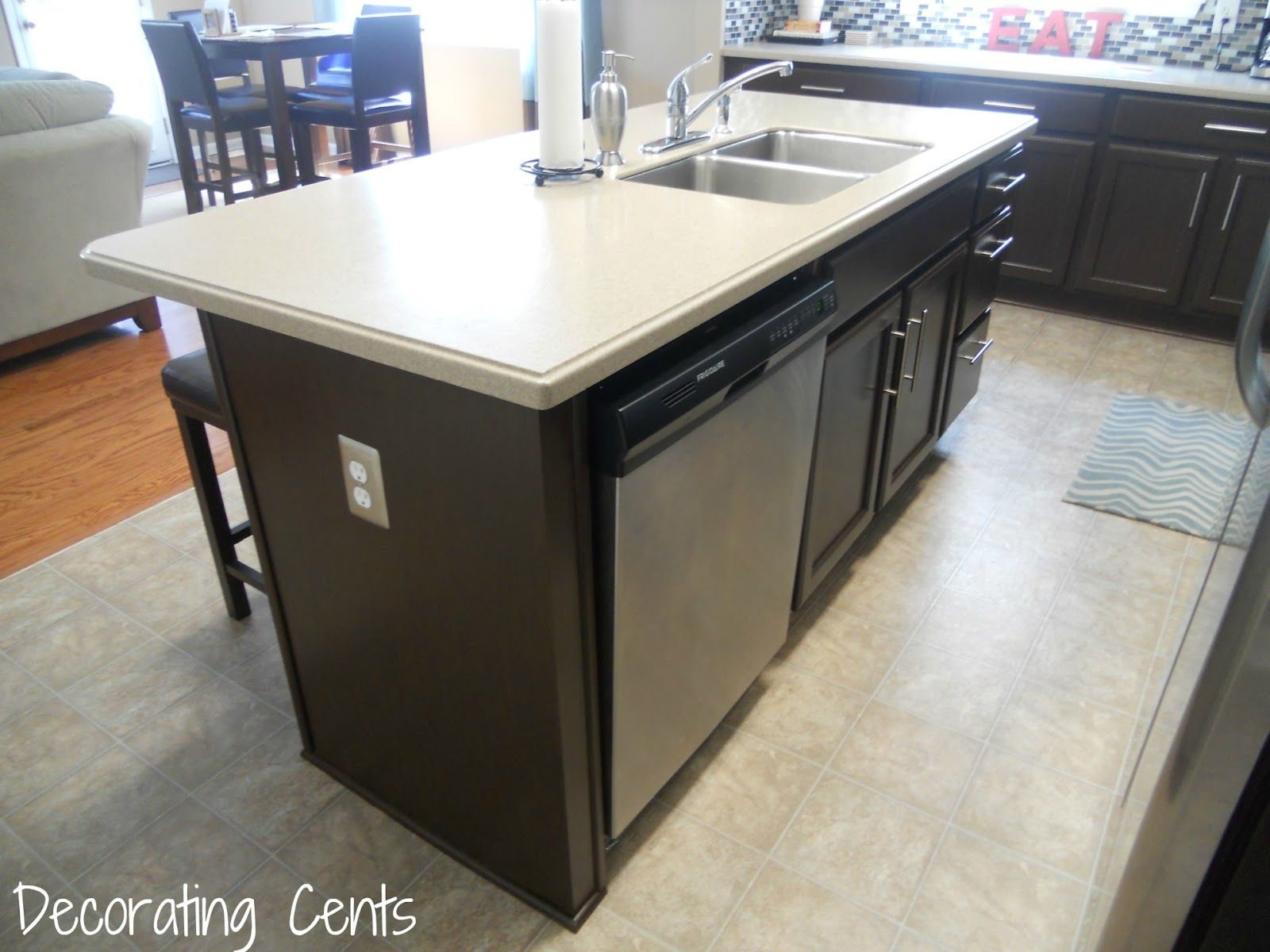 Electrical Outlet Next To Dishwasher Countertop Appliance