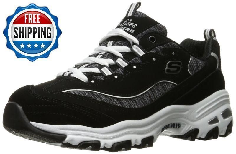 precio competitivo muchas opciones de último clasificado SKECHERS D'LITES - ME TIME Sneaker 11936/BKW SIZE 9.5 M NEW ...