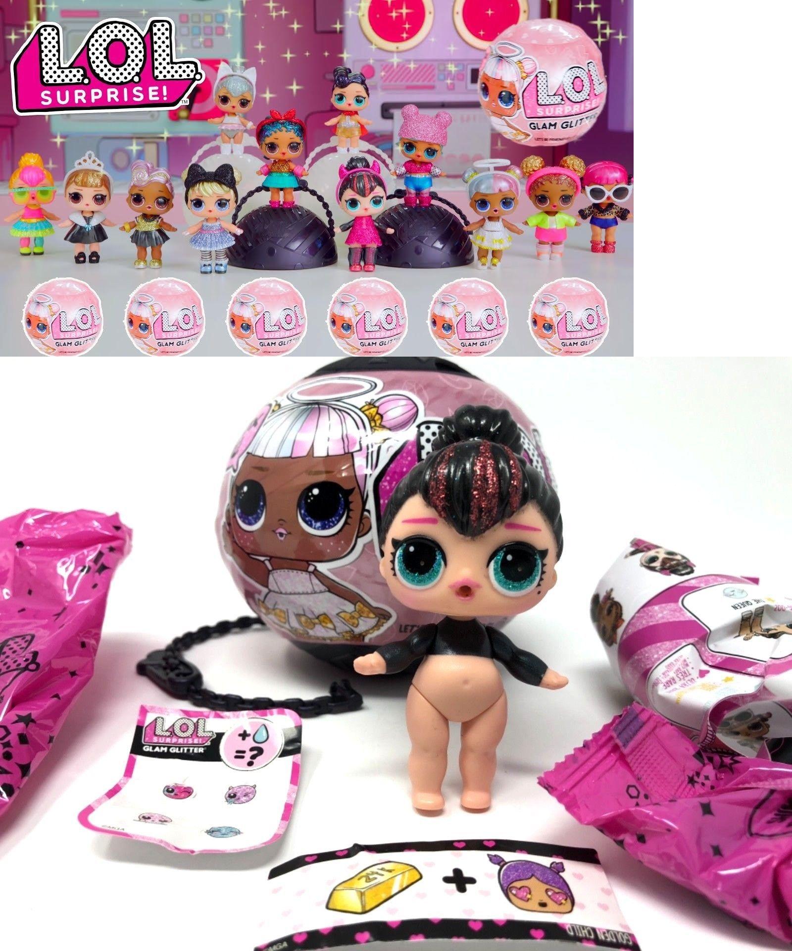 Authentic ✨ ✨ Brand New Lot of 3 LOL Surprise Dolls Balls GLITTER SERIES L.O.L