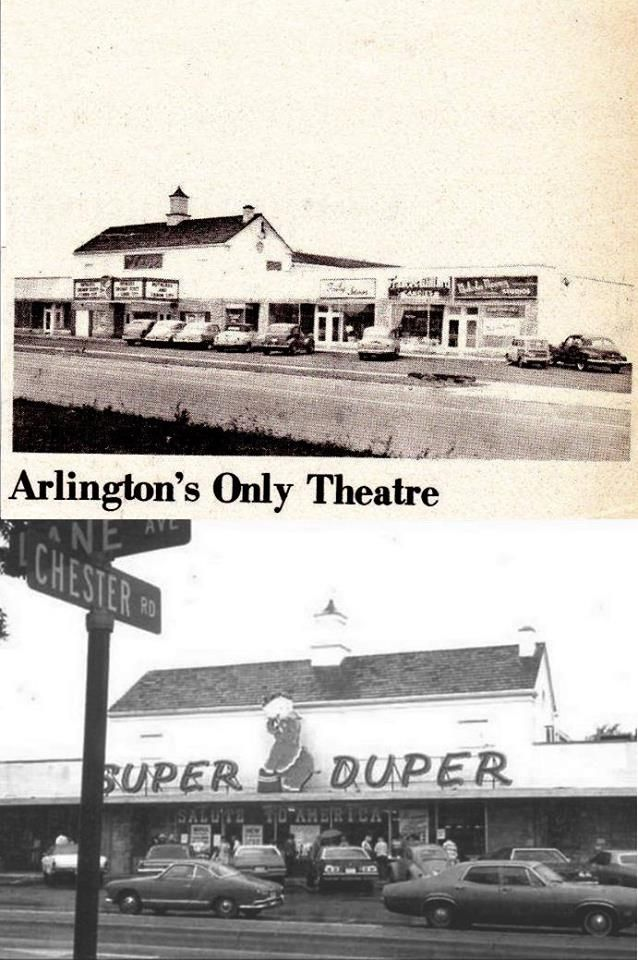 The Lane Avenue Theater Was Built In 1948 In Upper