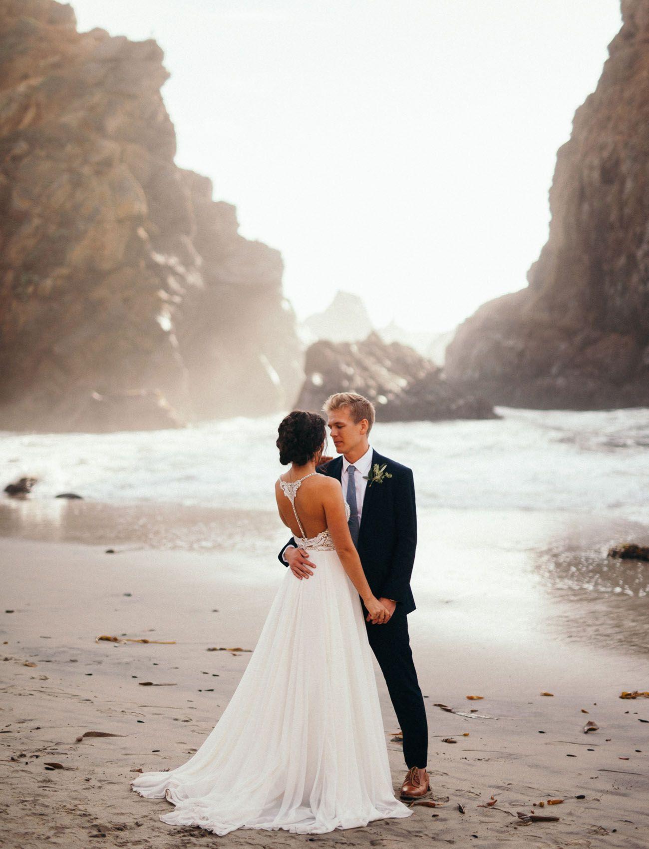 Intimate Sur Beach Wedding Planned In 90 Days