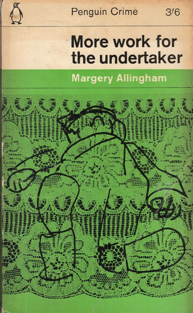 Margery Allingham - More Work For The Undertaker (Cover by Romek Marber)
