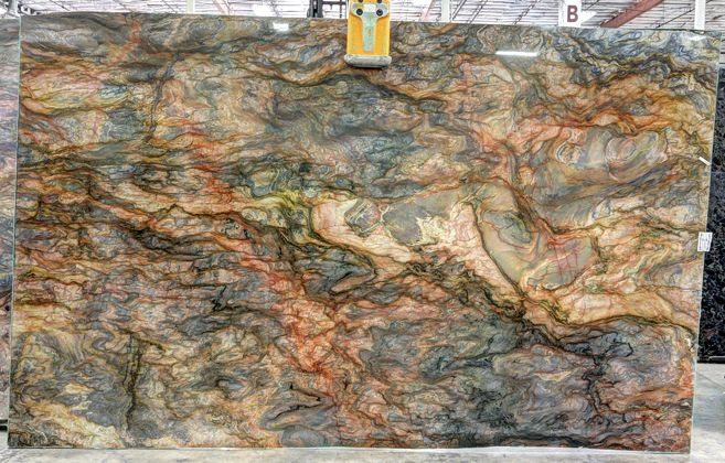Quartzite Marblecompany Great For A Feature Wall In Back Of Shower Granite Slab Colors Granite Slab Granite Countertops Kitchen