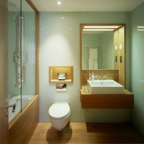 Bamboo Floor Bathroom
