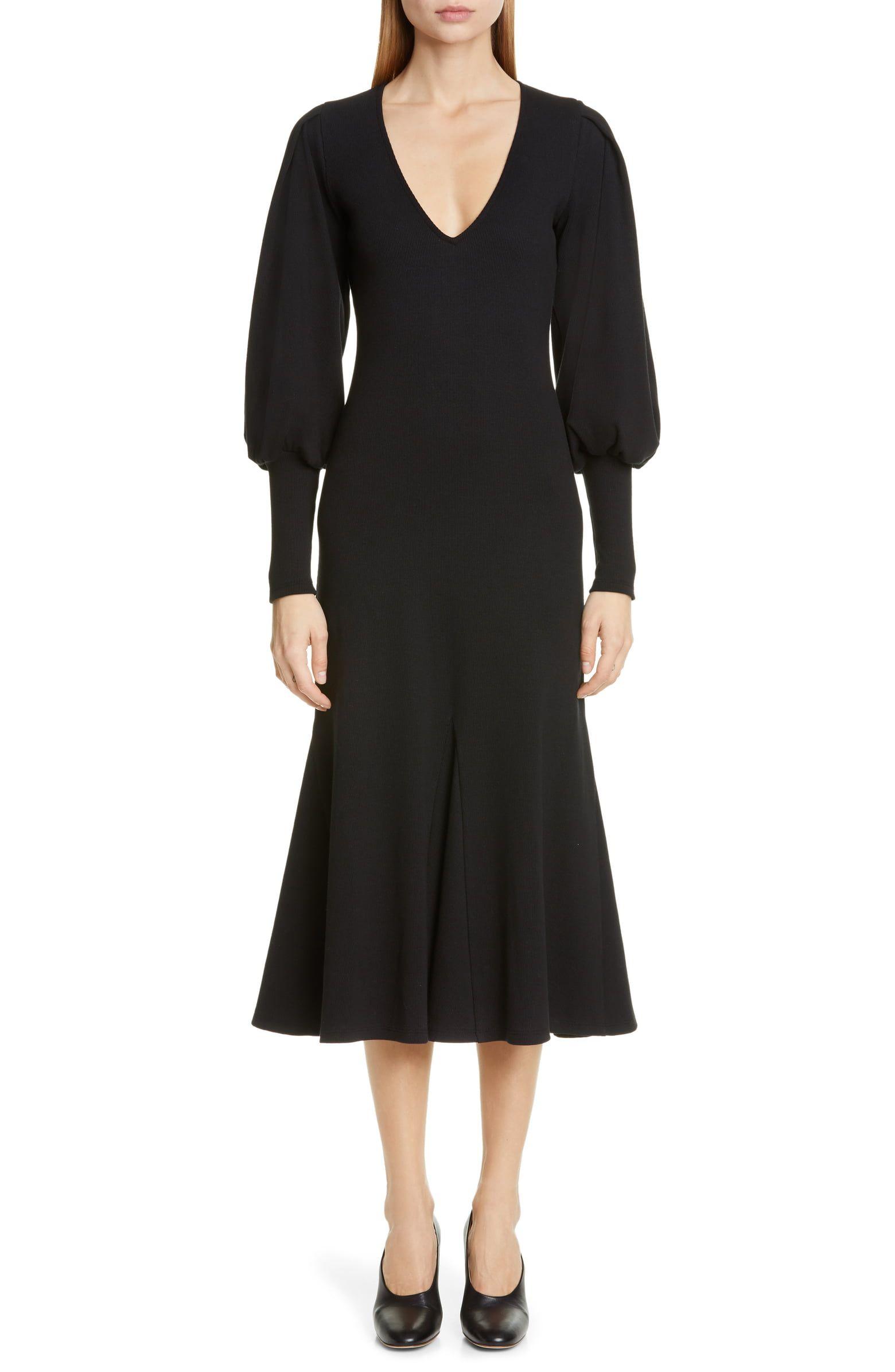 Beaufille Flora Long Sleeve Midi Dress Nordstrom Long Sleeve Midi Dress Black Long Sleeve Midi Dress Long Sleeve Midi [ 2392 x 1560 Pixel ]