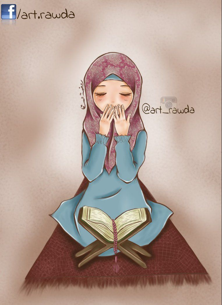 Girls Makes Sure Little Girls Of All Religions Weren T Touched Or Cured Of Down Syndrom I Will Do It When I Want T Islamic Cartoon Hijab Cartoon Anime Muslim