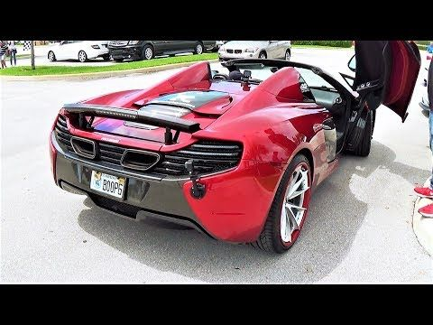 Mclaren 650s Spider Boopmobile Going Crazy Insane Revving At Cars