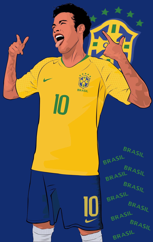 Pin De Alexis Em Football Illustration Futebol Jogadores De