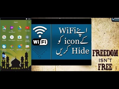 How to Hide Wifi Icon on Android Status bar (Easily) | TECH