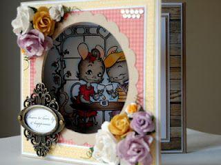 Whiff of Joy - Tutorials & Inspiration: Triple folding card with window