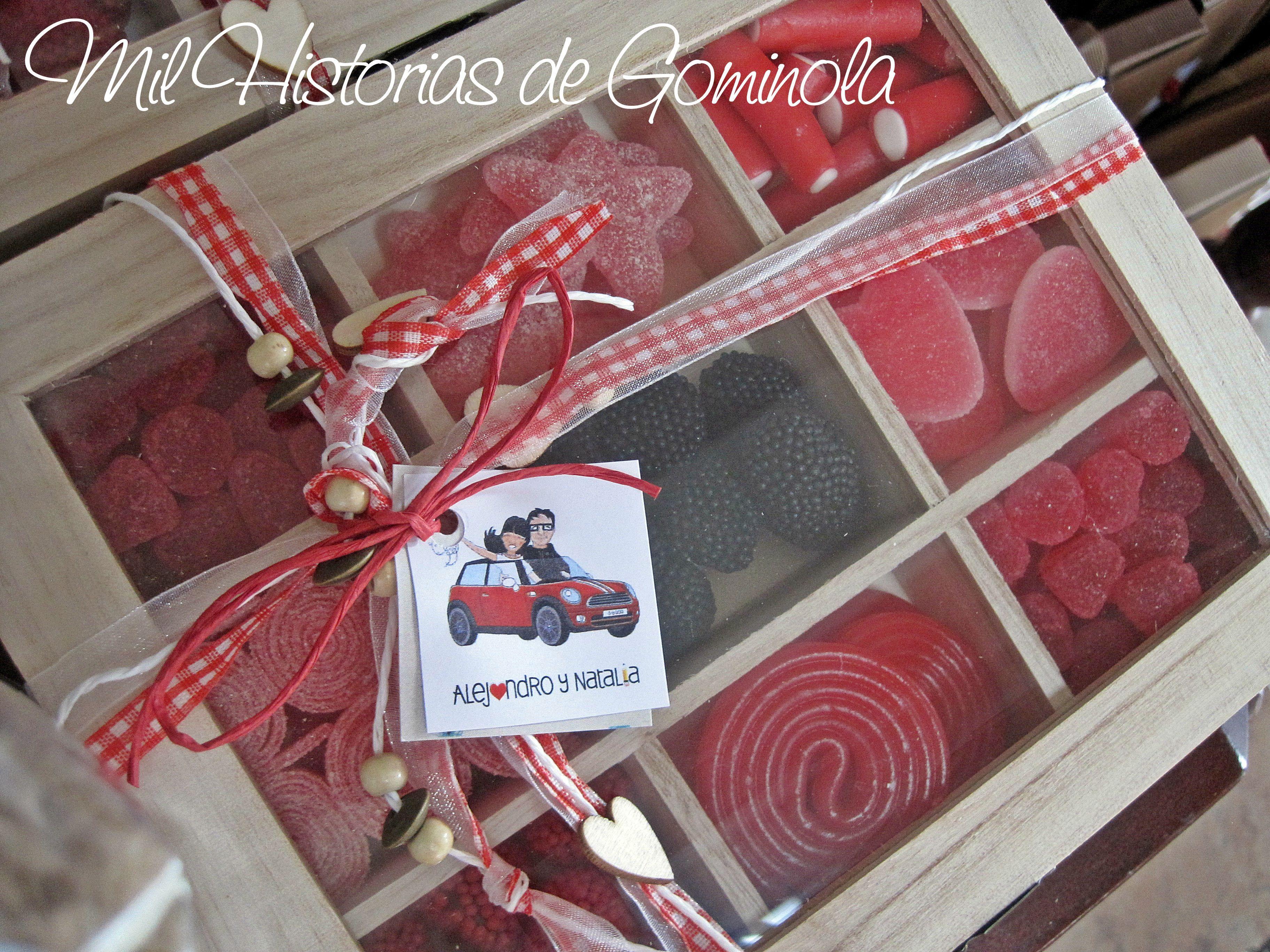 Caja De Chuches I Want Candy Pinterest Cajas Bodas  ~ Regalos Originales Amigo Invisible Hechos A Mano