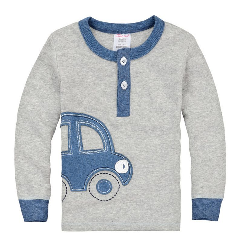 Organic Cotton Fall Winter Car Design Kids Infant Clothing Children T-shirt  Cute Baby Boy Long Sleeve Cotton T shirts #>=#>=#>=#>=#> Click on the pin to check out discount price, color, size, shipping, etc. Save and like it!
