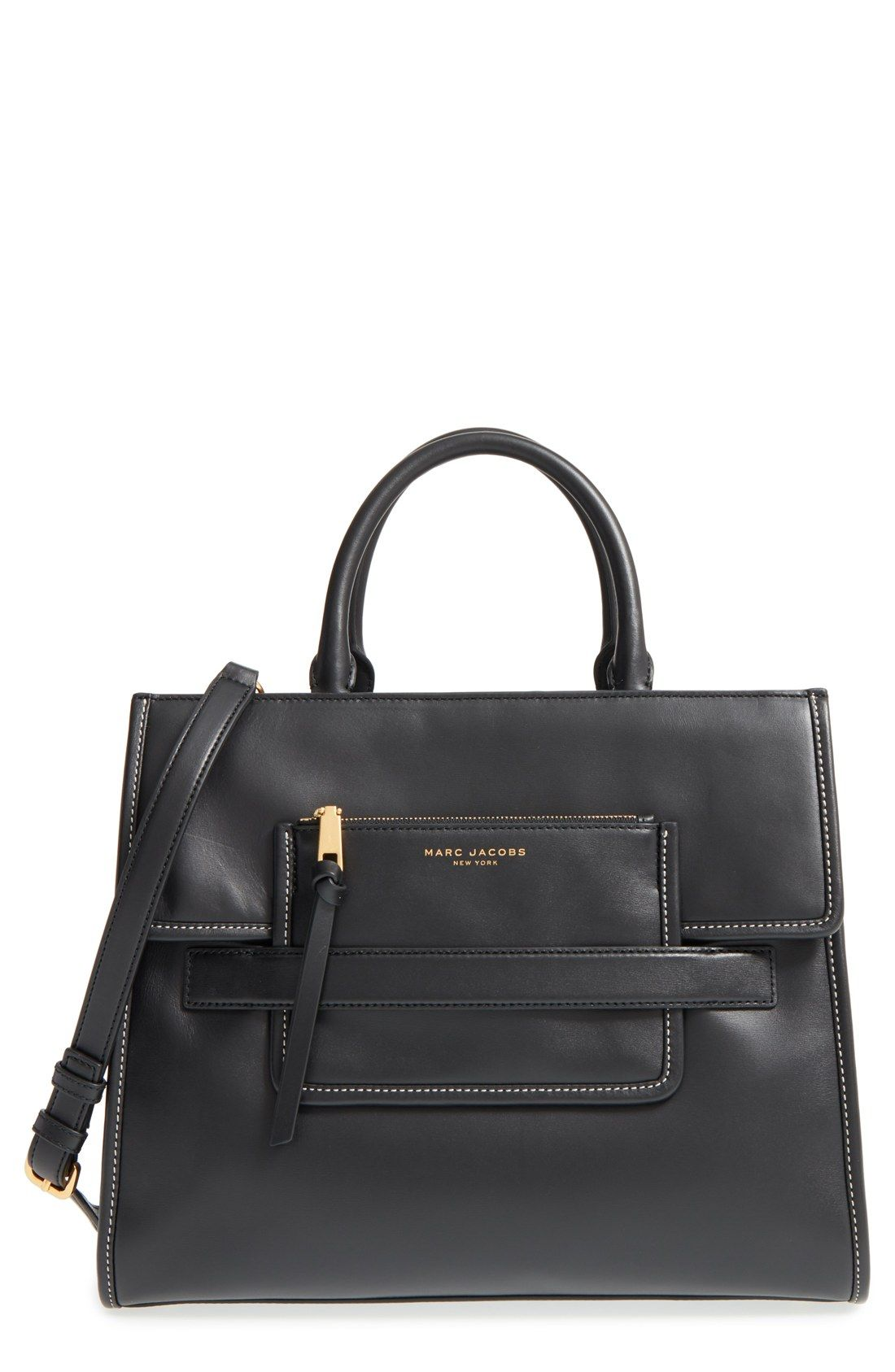 cd7ad2209564 MARC JACOBS  Madison North South  Leather Tote