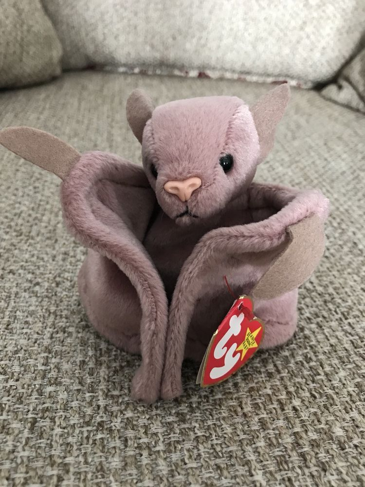 c7fa728eee5 RARE Ty Beanie Baby Batty the Bat Retired Plush Original 1997 ...