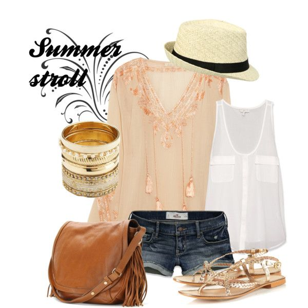 """""""Summer stroll"""" by jessip-14 on Polyvore"""