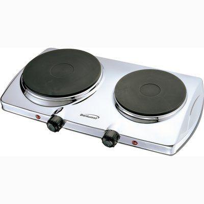 2 Burner Hot Plate