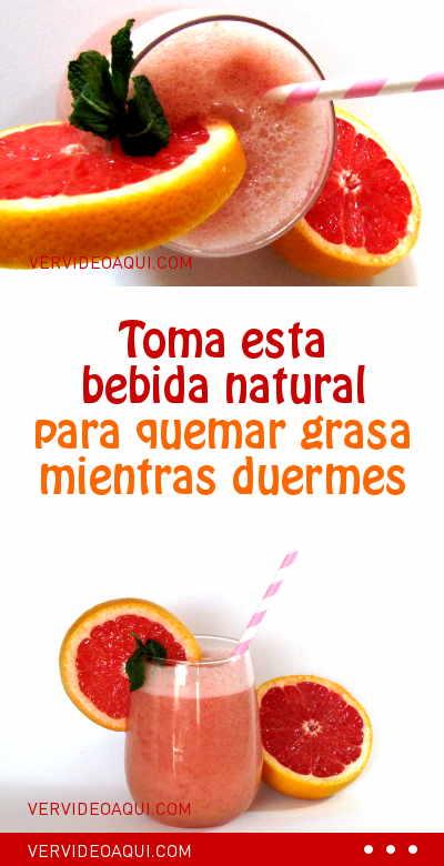 3 Bebidas Naturales Para Bajar De Peso Mientras Duermes Te Para Bajar De Peso Bebida Quema Grasa Bebidas Para Bajar De Peso