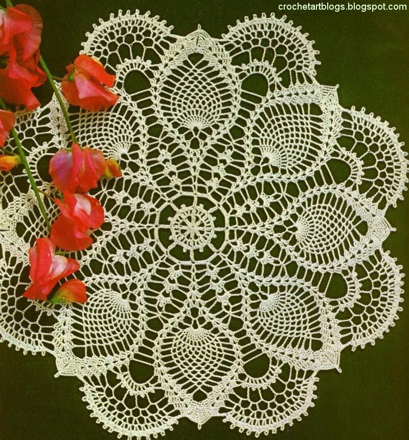 Crochet Art: Magic Crochet Doily Free Pattern | flores | Pinterest ...